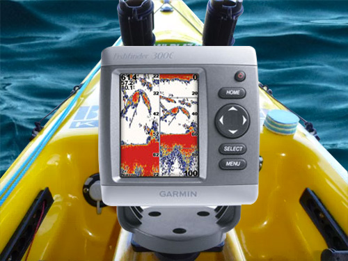 Garmin Waterproof FishFinder 300C