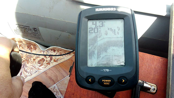 Humminbird PiranhaMAX 170 Waterproof Fishfinder