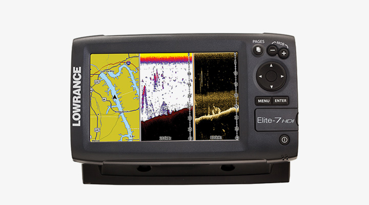 Lowrance Elite 7 HDI Review » Lowrance » Fish Finder Reviews