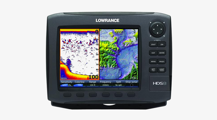 lowrance hds-8 fishfinder review