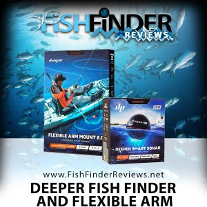 Deeper PRO Fish Finder and Flexible Arm