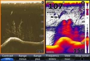 lowrance down scan