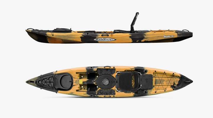 Malibu Stealth 14 Fishing Kayak