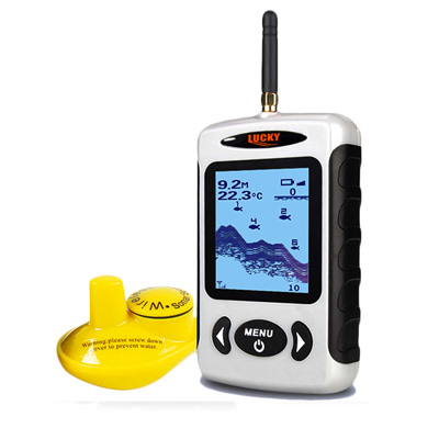 Lucky Castable Portable Wireless Fish Finder